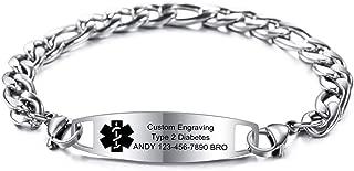 Best alzheimer's id bracelets Reviews