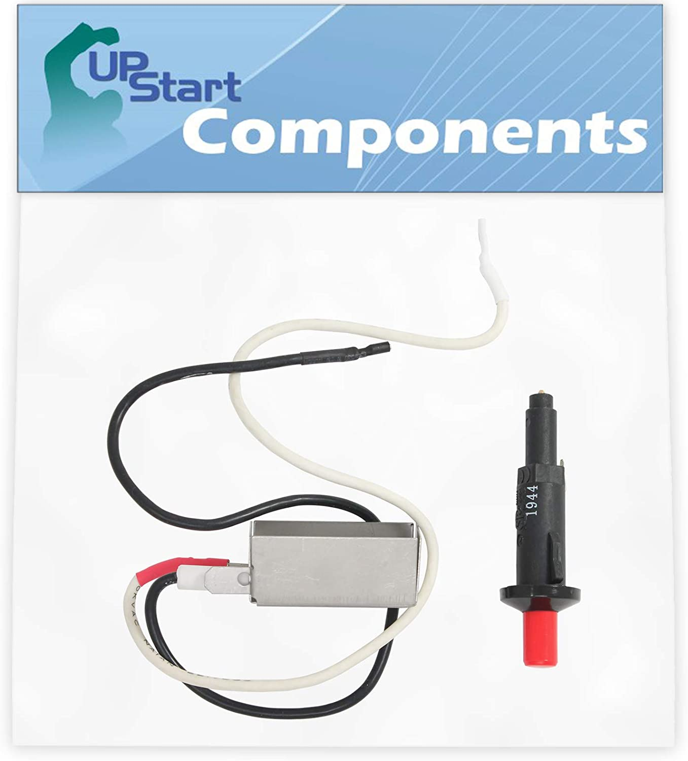 UpStart Components Cheap mail order sales BBQ Gas Grill Button supreme Replace Kit Igniter Push