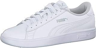 PUMA Smash v2 L Jr, Boys' Sneakers, White (Puma White 02), 39 EU
