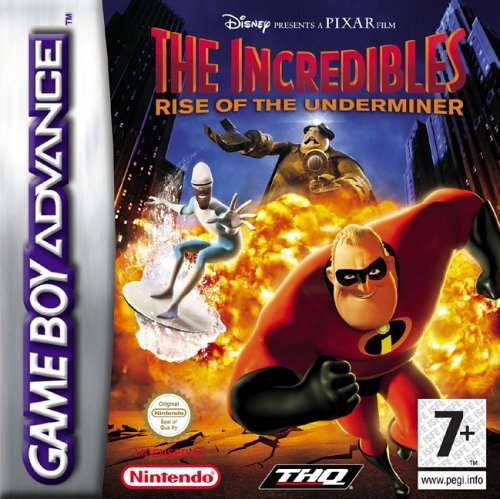 The Incredibles: Rise Of The Underminer (GBA) by Disney