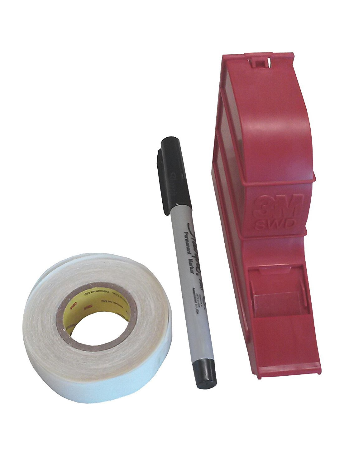 3M free TM ScotchCode Wire sale Marker a with Write-On Tape Dispenser
