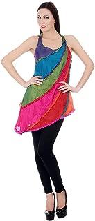 Devaleena Creations Rainbow Kurta For Girls