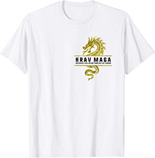Krav Maga Dragon Logo You Might Run Out of Ammo  Women & Men T-Shirt