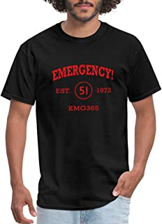 Emergency Athletic Vintage Firefighting Men's T-Shirt