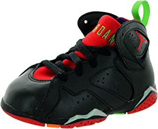 sale retailer 048b5 ebc41  304772-028  AIR Jordan AJ 7 Retro BT Infants Shoes Blck UNVERSTY RD
