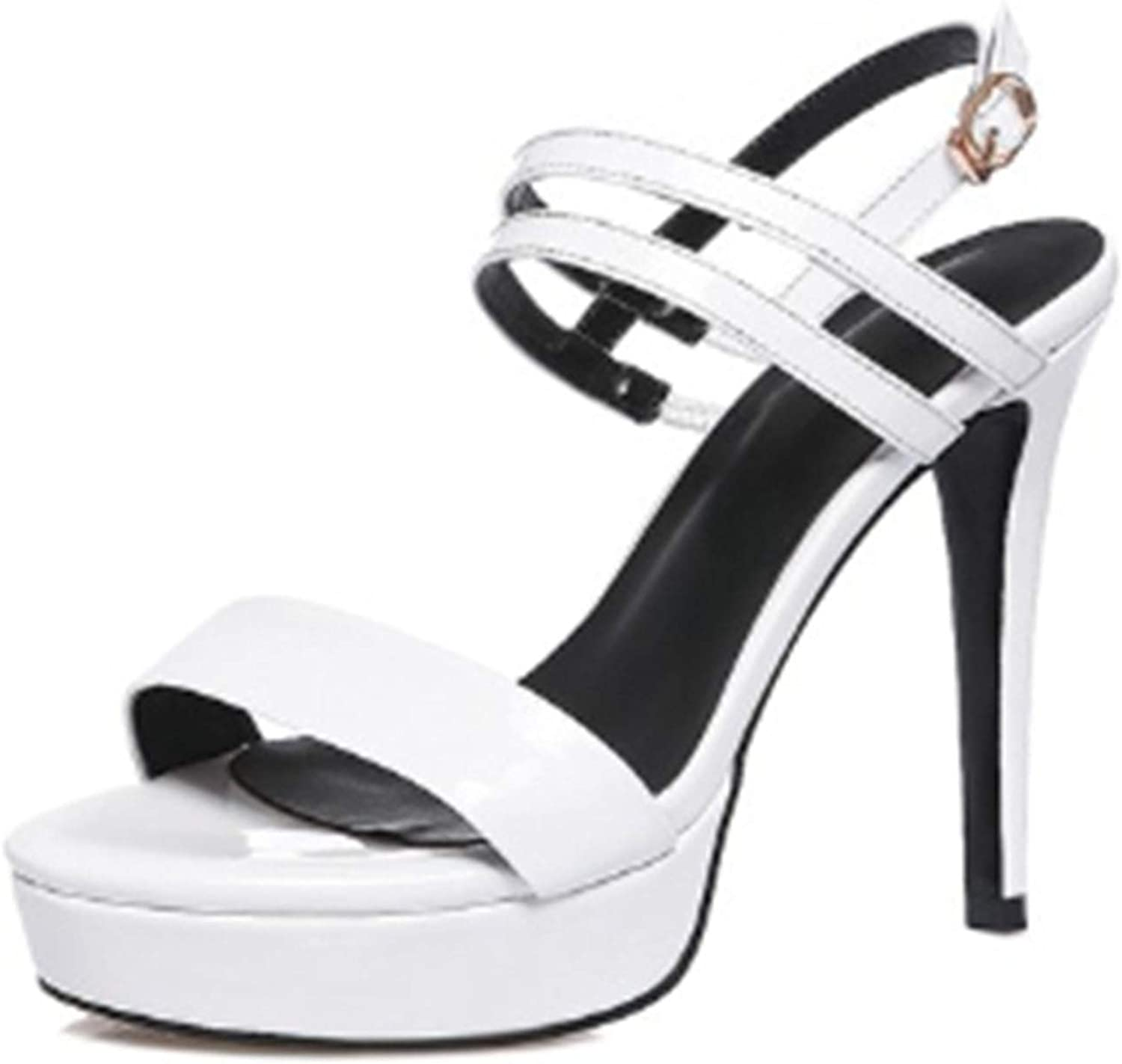 GO-SAMSARA heels Genuine Leather Basic Casual Women shoes shoes Women Sandals Summer LY750