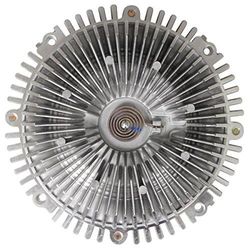 OAW 12-N6600 Engine Cooling Fan Clutch for 04-15 Nissan Titan 08-12 Pathfinder 04-15 Armada 12-17 NV2500 NV3500 /& 04-10 Infiniti QX56 VK56DE 5.6L