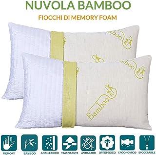 BedStory 160 x 200 x 40 cm Coprimaterasso in Fibra di bamb/ù
