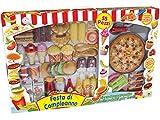 Teorema 63193 - Fast Food giocattolo Festa di Compleanno: Pizza/Burger/Pollo/Patatine/Dolce
