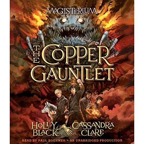 Couverture de The Copper Gauntlet