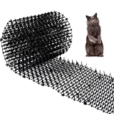 Cat Scat Mat with Spikes Prickle Strips Anti-Cats Network Digging Stopper Pest Repellent S...