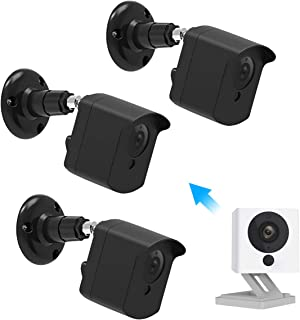 Wyze Cam Wall Mount Bracket, Caremoo Upgraded Weather Proof Case with Adjustable Security Mount for WyzeCam V2 Camera and ...