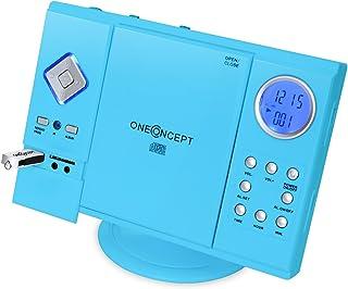 OneConcept V-12 – Chaîne stéréo, Tuner AM/FM, Lecteur CD, Finition laquée,..