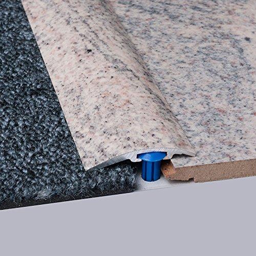 Laminat-Ausgleichsschiene Juparana Superglanz 900 mm, für 4 - 14 mm Höhenunterschied