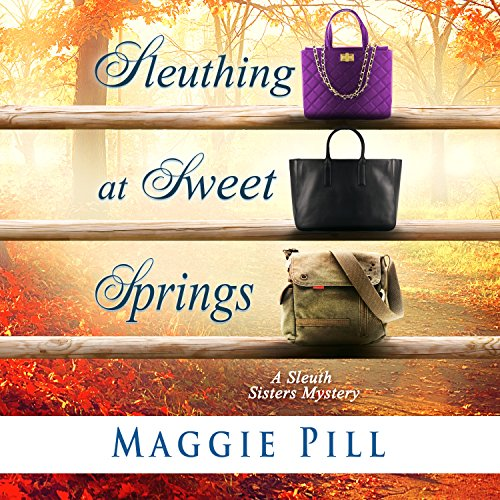 Sleuthing at Sweet Springs audiobook cover art