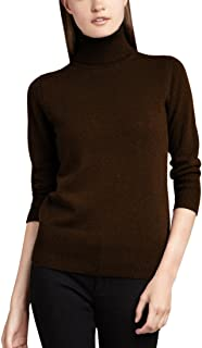 Women's 100% Cashmere Turtleneck Sweater