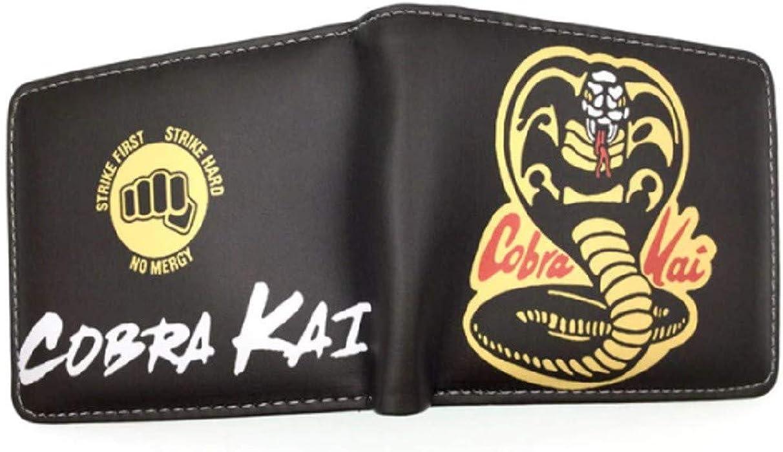 Karate Kid Cobra Snake Bi-Fold Wallet