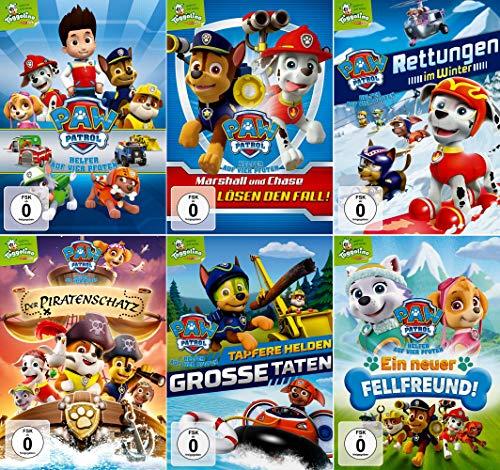 Paw Patrol - Volume 1-6 (Toggolino) im Set - Deutsche Originalware [6 DVDs]