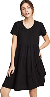 Wilt Women's Tiered Trapeze Dress
