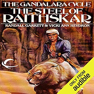 The Steel of Raithskar audiobook cover art