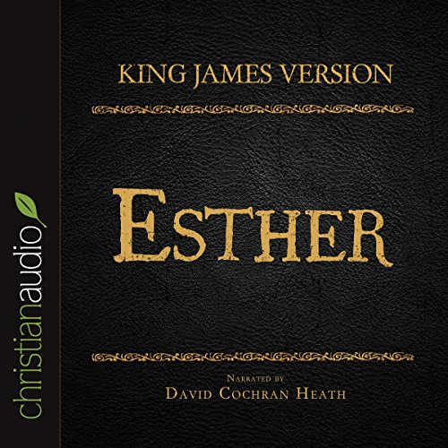Holy Bible in Audio - King James Version: Esther audiobook cover art