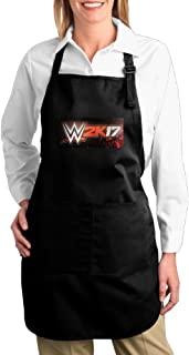 WWE 2k17 Logo Unisex Kitchen Cooking Grilling Apron Black