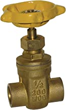 ProChannel VGTS20A5PA Gate Valve with 200 PSI Brass Compression X Compression, 1-Inch