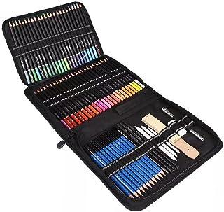 Zestaw 72 kolorowych ołówków do szkicowania kolorowanek artykuły szkolne dla profesjonalnych artystów dorosłych dzieci, ko...