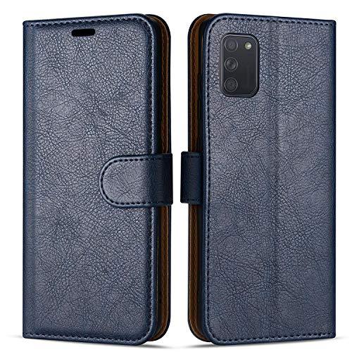 Case Collection Custodia per Samsung Galaxy A41 Cover (6,1') a Libretto in Pelle di qualità Superiore con Slot per Carte di Credito per Samsung Galaxy A41 Custodia