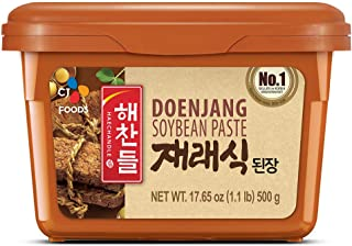 CJ Haechandle Soybean Paste, Korean Doenjang, 500g (1lb),
