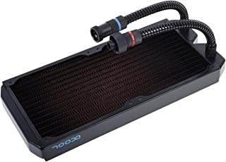 AlphaCool 14263 NexXxos Eiswolf/Eisbaer Ready ST30 Full Copper 280mm Radiator Refrigeración Líquida Radiadores