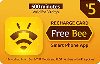 Free Bee $5 Prepaid Call Card, 500 Minutes to Philippines for 30 Days