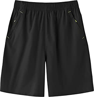 Sponsored Ad - SPOSULEI Men's Sports Shorts Outdoor Quick-Drying Jogging Basketball Tennis Sweat Pants with Pockets