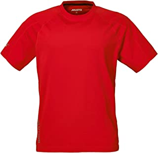 2016 Musto Evolution Logo Short Sleeve Tee in TRUE RED SE1361 Sizes- - Medium: Amazon.es: Deportes y aire libre