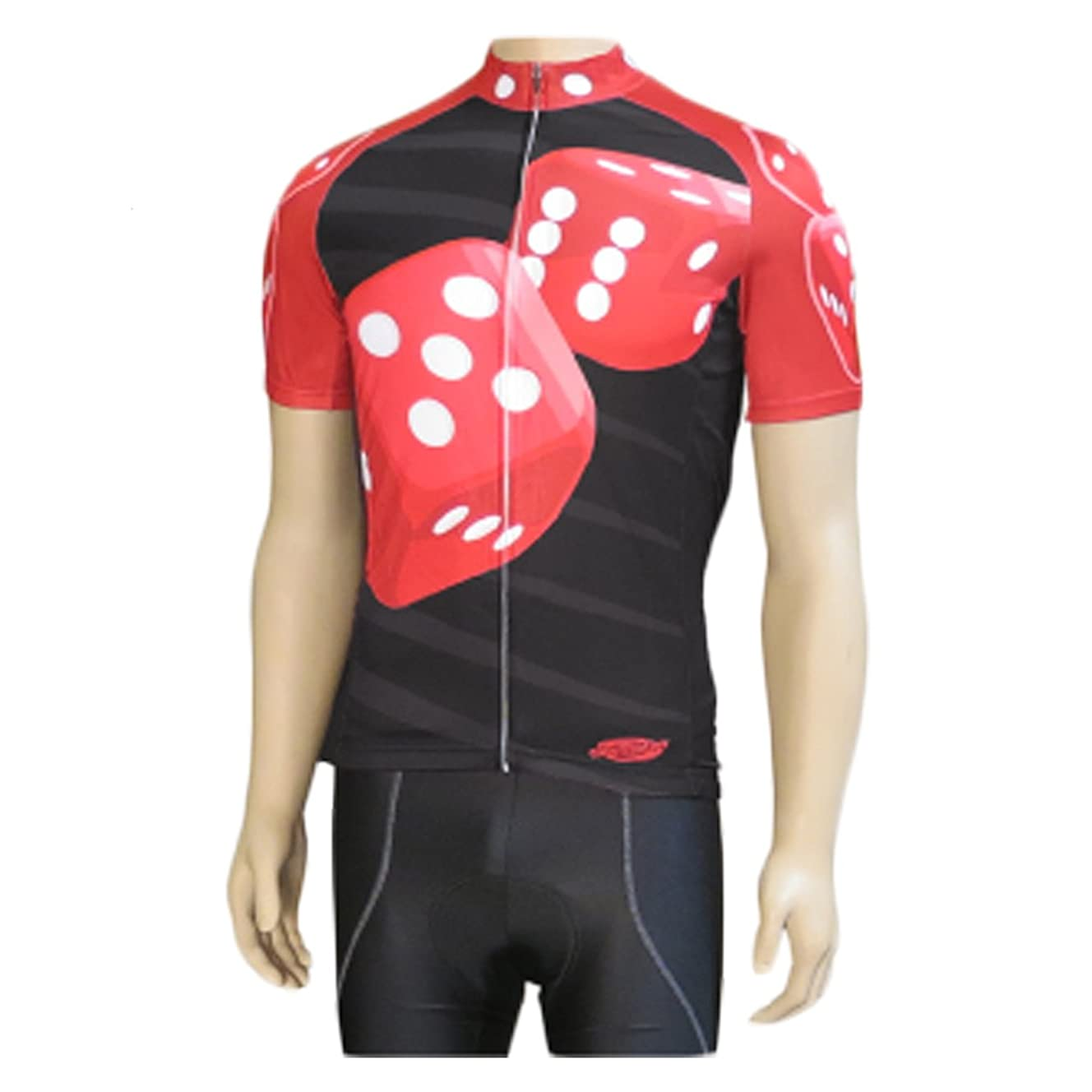 Clean Motion Short Sleeve Cycling Jersey - Dice