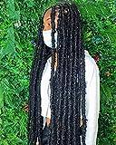 30 Inch Light Weight Butterfly Locs Crochet Hair 8...