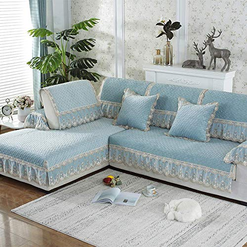 MKXF Ecksofabezug Anti-Rutsch-Sofa Schonbezug Winter L Shape Sofa
