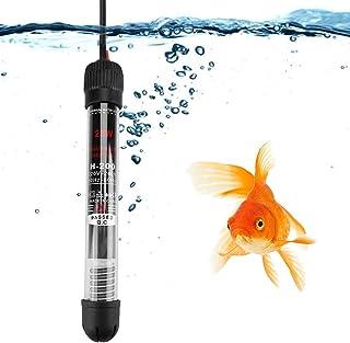 Semme 25W / 50W / 100W / 200W / 300W 220V Acuario Sumergible Fish Tank Calentador de Agua automático Enchufe de la UE(25W(220V))