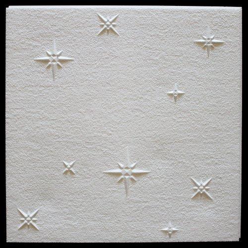 20 qm | Deckenplatten | EPS | formfest | Marbet | 50x50cm | Zima