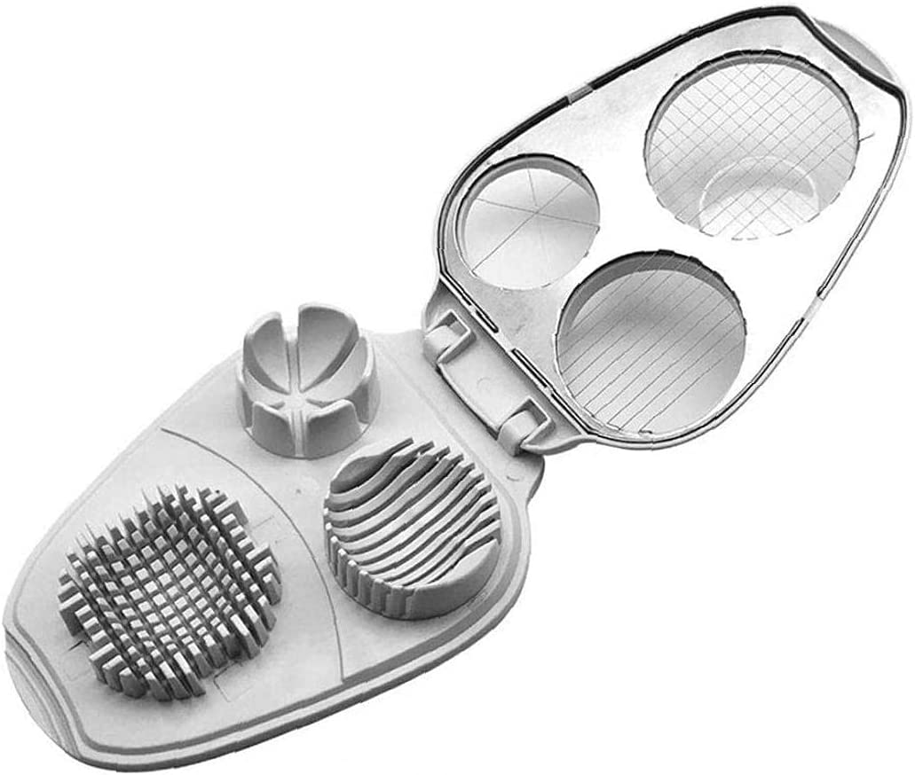 Egg Slicer 3 in 1 Stainless Slicers Manual Hard New Free Shipping Steel Boiled Ranking TOP20 for