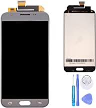 SPHENEL LCD Display and Digitizer Touch Screen Assembly for Silver Housing Samsung Galaxy J3 2017 Prime/Emerge J327 J327A J327V J327P J327T1 J327R4 (Gray)