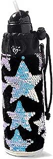 Justice for Girls Flip Sequin Star Velvet Sleeved Water Bottle