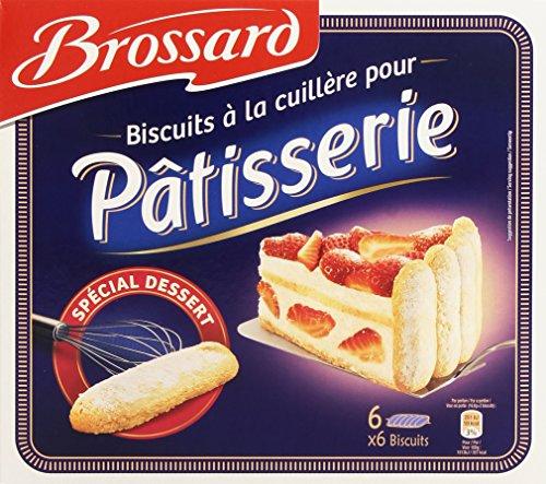 Brossard 36 Biscuits Cuillère aux oeufs frais pour pâtisserie 300 g