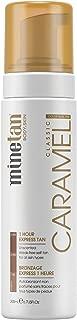 MineTan Caramel Self Tan Foam - Self Tanner Mousse For A Sunkissed, Golden Skin Finish, 1 Hour Express Tan, Vegan, 6.7 fl oz