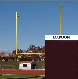 Goal Post Streamers - Maroon (40 in. x 4 in.)
