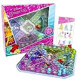 Disney Princess Pop Up Game ~ Disney Princess Board Game for Kids with Pop Up Dice and Disney Princess Stickers (Princess Party Favors)