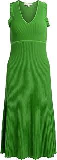 Michael Kors Woman's Long Green Dress