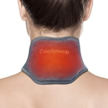 Neck Heating Pad, Comfytemp USB Heated Neck Wrap for Pain Relief, Auto Shut Off, 3 Adjustable Temperature, Electric Thermal Hot Compress Neck Brace, Heat Therapy for Soreness & Stiffness Relief