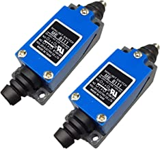 Xenocam ME-8111 Plunger Momentary Limit Switch 1NC+1NO 2Pcs