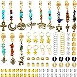 Kaiersi 108 PCS Dreadlocks Loc Jewelry...